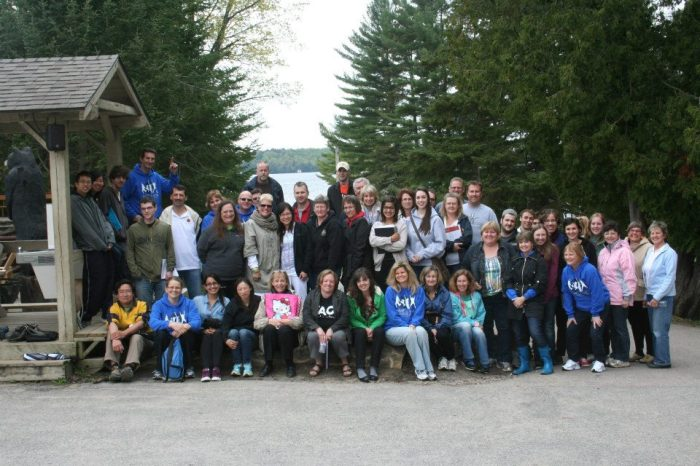Coaches and Officials at Muskoka Woods May 2013