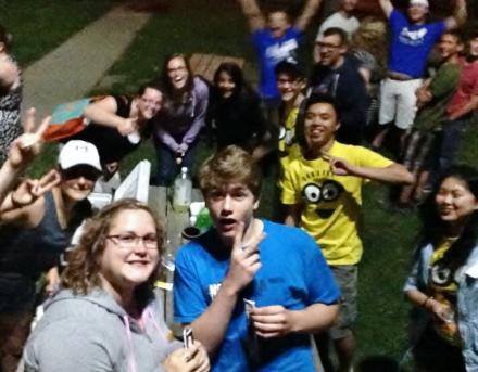 Selfie Stick Fun EBC 2016