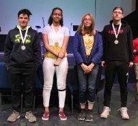 Consolation B Winners - WLA